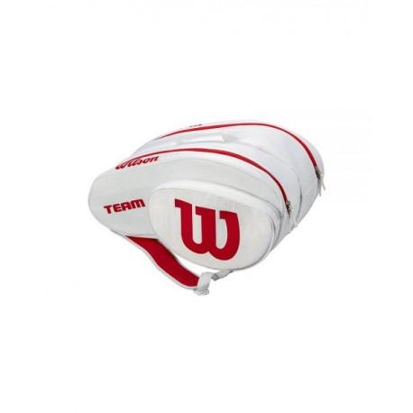 Wilson paletero padel team Blanco