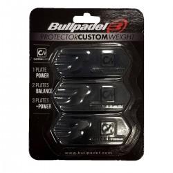 Bullpadel peso protector custom negro