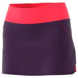 Adidas falda club legend purple/shock red