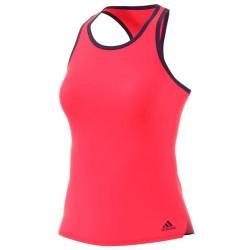 Adidas camiseta tirantas club shock red
