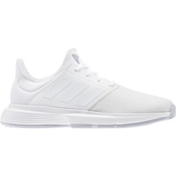Adidas zapatilla gamecourt woman blanco/blanco