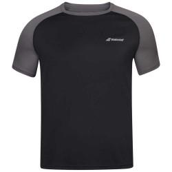 Babolat camiseta play negra