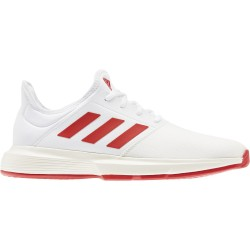 Adidas zapatilla Gamecourt blanco/rojo