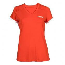 Nox camiseta team roja mujer
