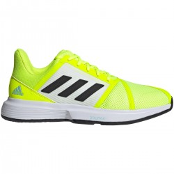 adidas zapatilla courtjam bounce amarillo