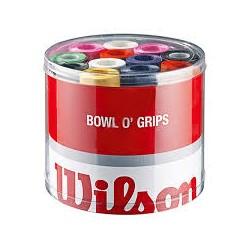 Wilson tambor de 50 overgrips colores
