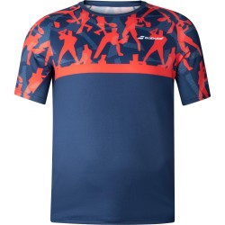 Babolat camiseta compete red/blue