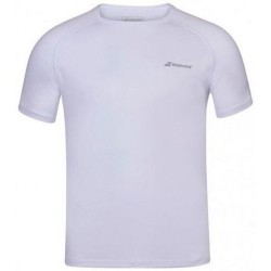 Babolat camiseta play blanca
