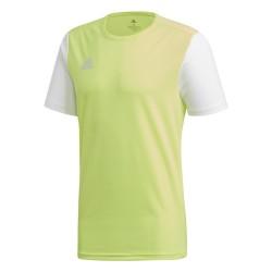 Adidas camiseta Estro amarilla