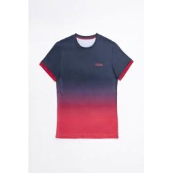 Nox camiseta pro azul/roja