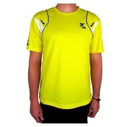 Drop shot camiseta oxel amarilla