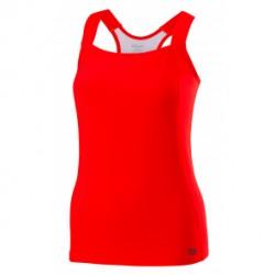 Wilson camiseta tirantas core roja