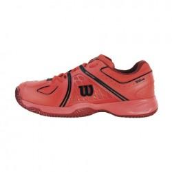 Wilson zapatilla Nvision roja 16