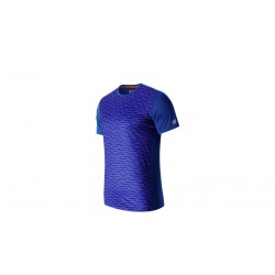 New Balance camiseta accelerate graphic azul