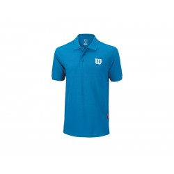 Wilson polo core cotton azul