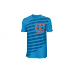 Wilson camiseta lined tech azul