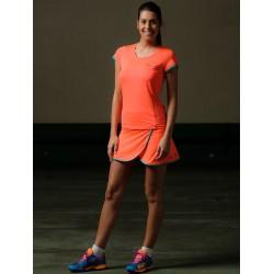 Nox falda neon coral